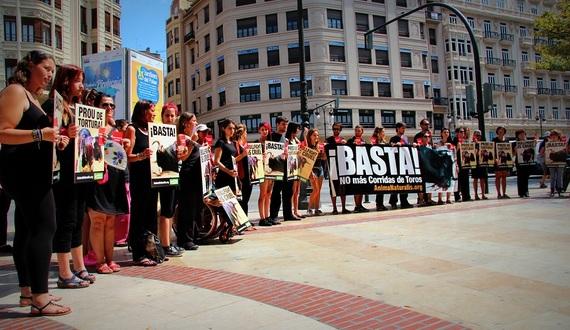 Tarjeta roja contra el maltrato animal en Valencia