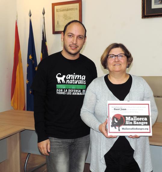Sant Joan decimosexto municipio antitaurino en Mallorca