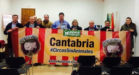 Santa María de Cayon prohíbe los circos con animales