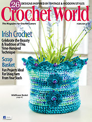 Crochet World February 2015
