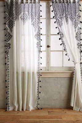 Lace Shower Curtains
