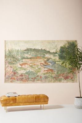 New Wall Art   New Wall D    cor   Anthropologie Rosalie Tapestry