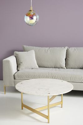 Gray And Gold Accent Chair