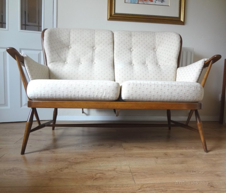 Vintage Ercol Windsor Sofa Conceptstructuresllc Com