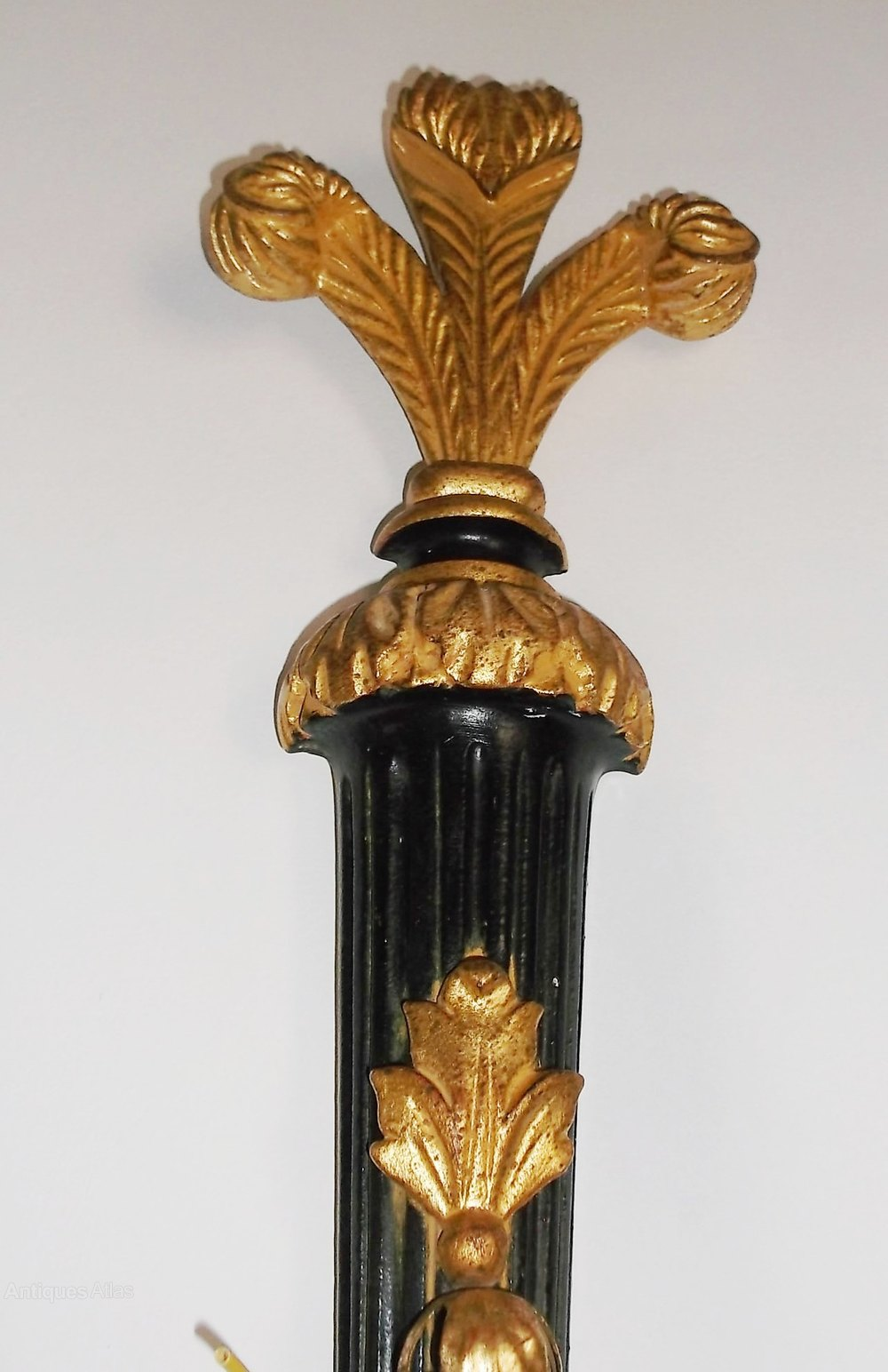 Antiques Atlas - Pair Of Vintage Wall Sconces on Vintage Wall Sconces id=18033