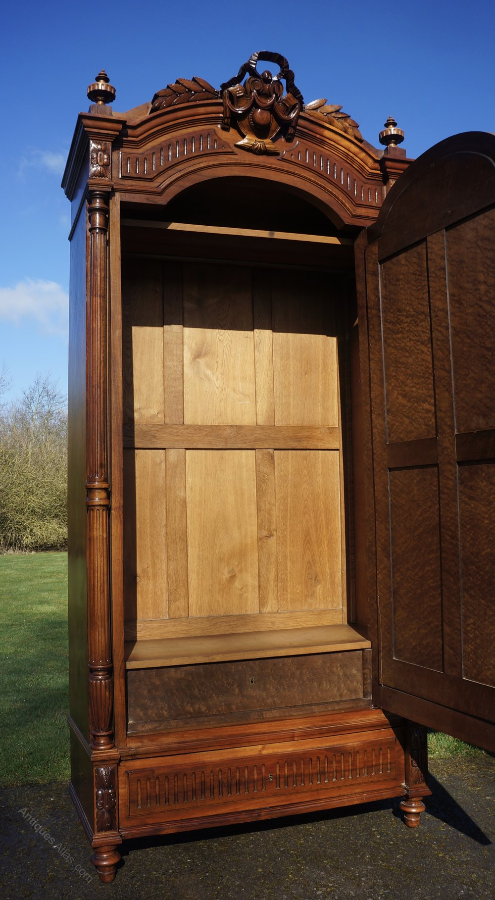 Armoire Shelves And Drawers