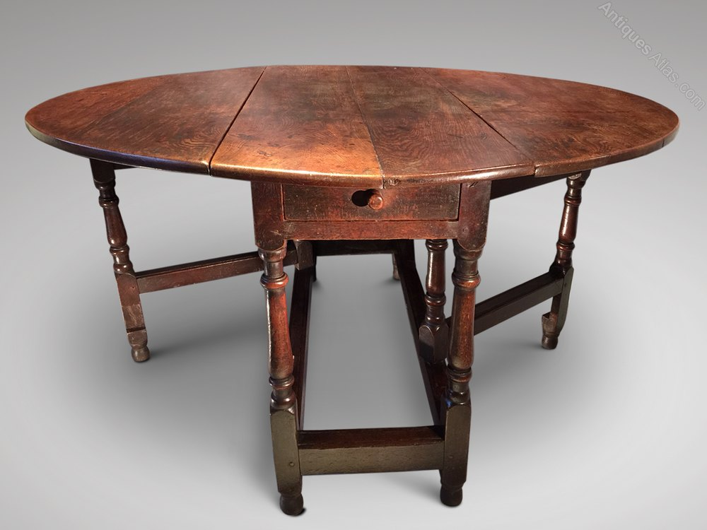 18th Century Gateleg Dining Table Antiques Atlas