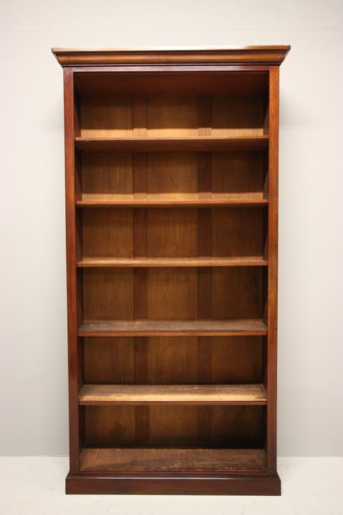 Tall Open Back Bookcase