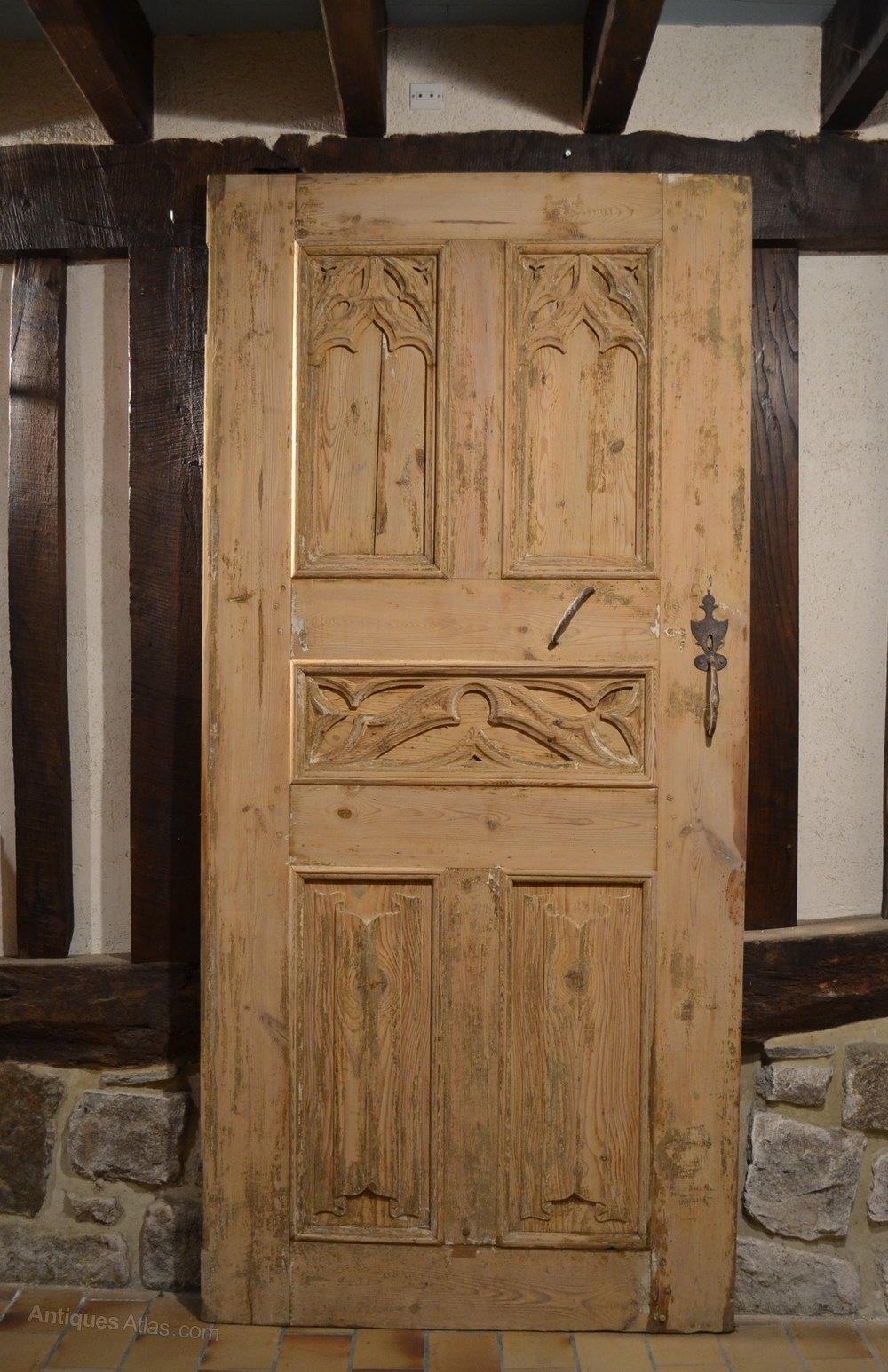 Antiques Atlas Pair Of Antique Doors Gothic Style