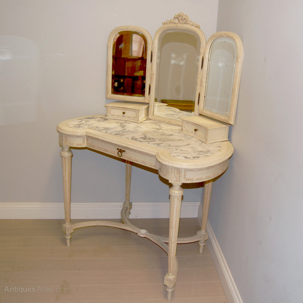 Antique French Painted Dressing Table Antiques Atlas