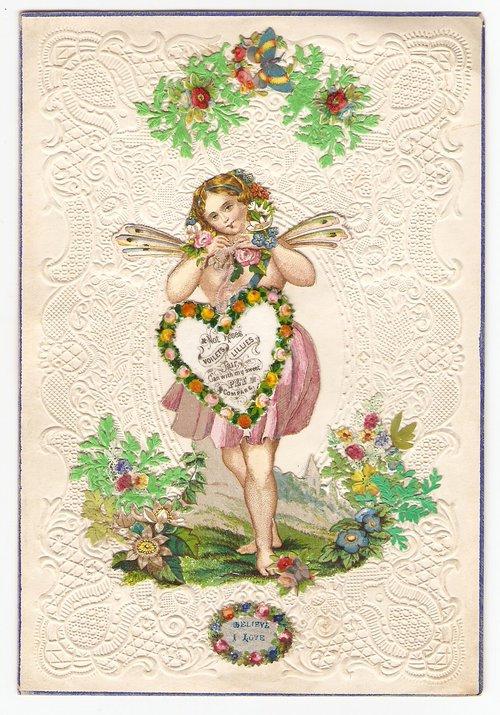 Antiques Atlas Victorian Valentine Card Circa 1845
