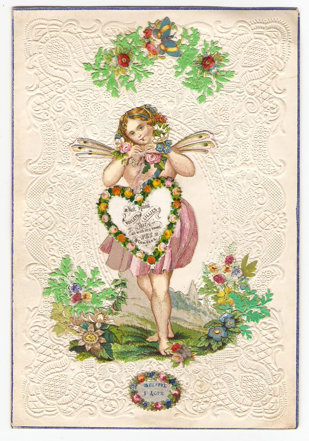 Many victorian valentine's cards survive, but most intriguing is a collection of more than 1,700 examples that is held at the museum of. Antiques Atlas - Victorian Valentine Card - Circa 1845