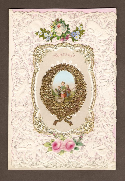Antiques Atlas Victorian Valentine Card Of 1856