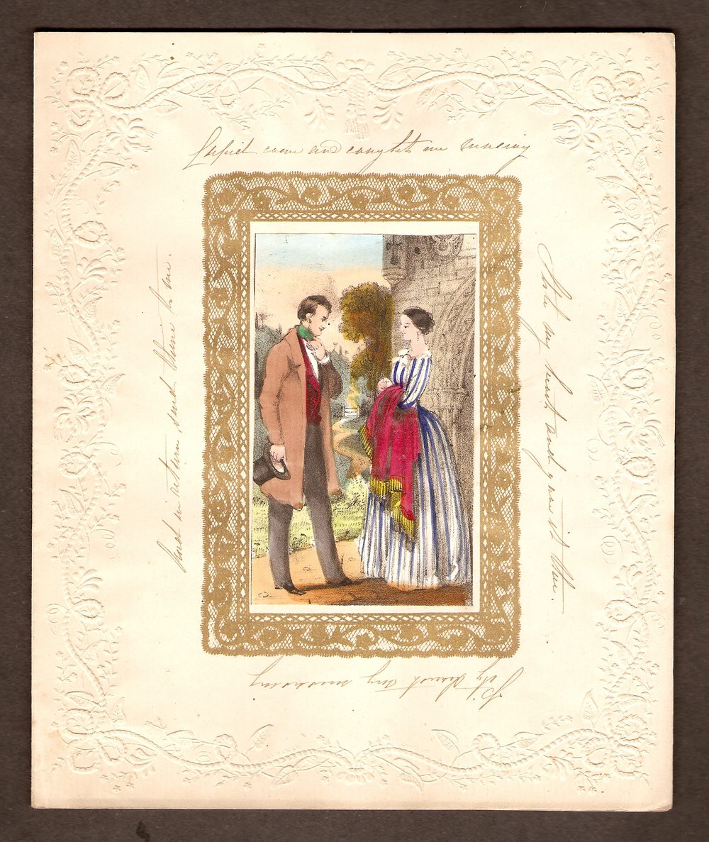 From british antique dealers, genuine victorian valentines cards shipping throughout the uk and. Antiques Atlas - Victorian Valentine Card Of Circa 1850's