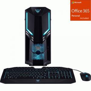 Acer Predator PO3-600 Gaming Desktop Computer – Core i5 i5-9 + Office 365 Bundle