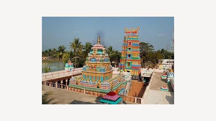 rameswara_swamy_temple_achanta_andhra_pradesh_Temple_top_View | ApniSanskriti - Back to veda