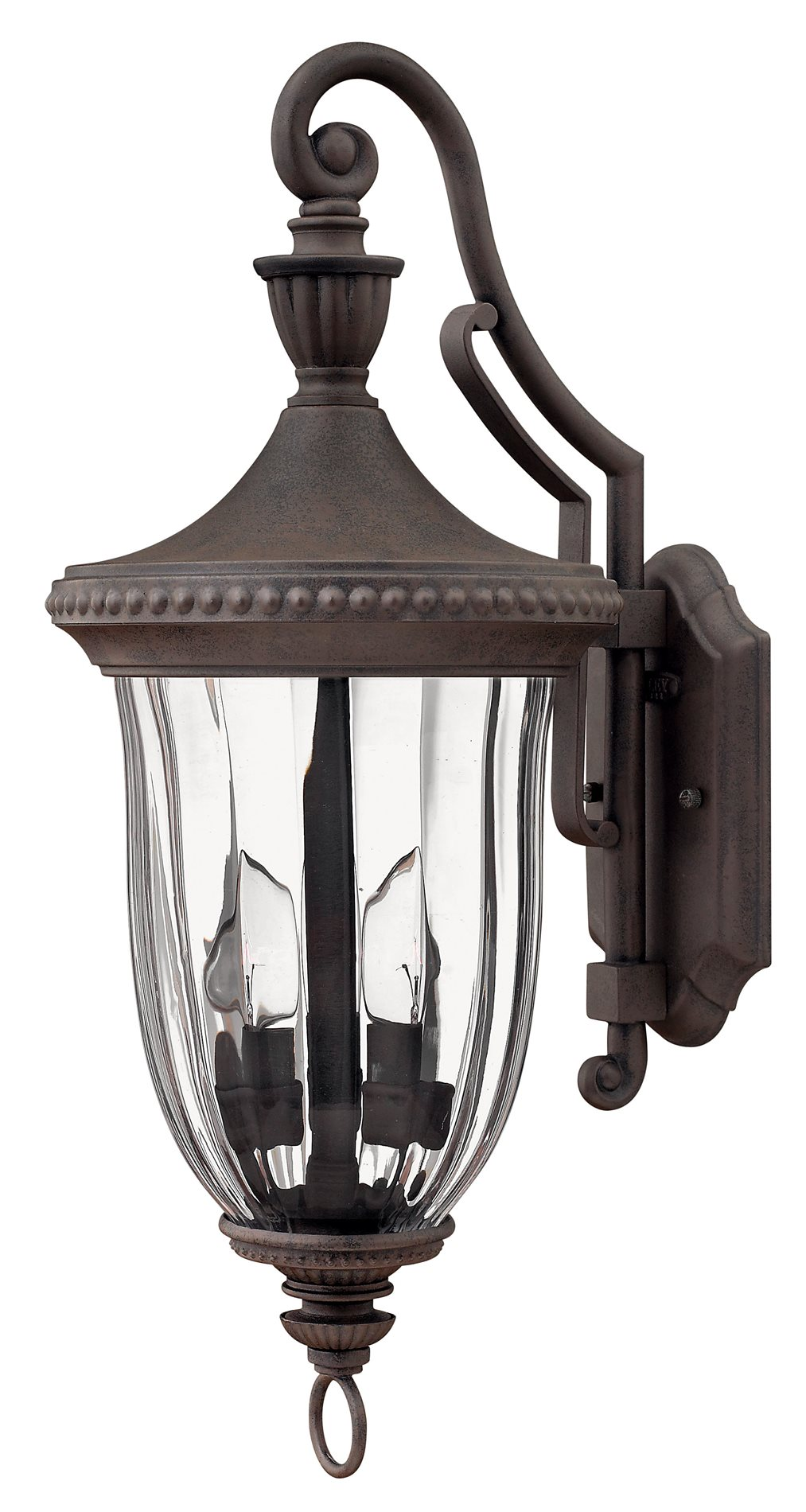 Hinkley Lighting 1244MN Oxford Traditional Outdoor Wall ... on Sconce Outdoor Lighting id=93704
