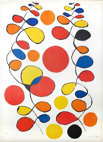 Alexander Calder, Copeaux de Spirales