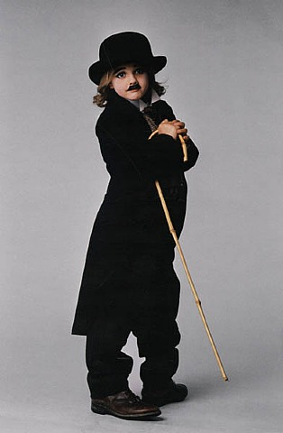 Steve Schapiro, Drew Barrymore as Charlie Chaplin 3, Los Angeles