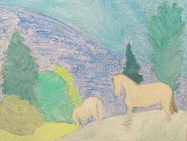 Sally Michel Avery, Hillside Horses