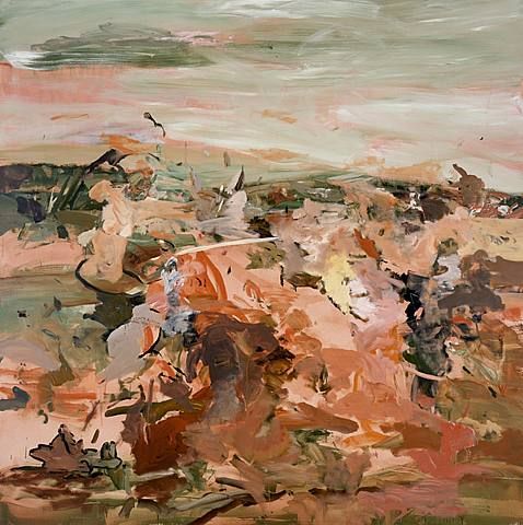 Cecily Brown, Red Painting 1