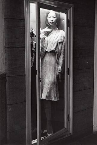 Ikko Narahara, Dress: Hanae Mori, Model: Hiroko Matsumoto