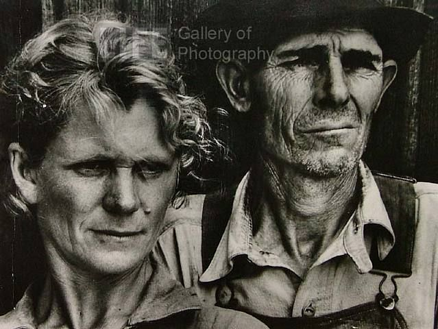 Margaret Bourke-White, Portrait of Sharecropper and Wife