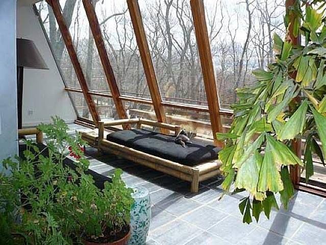 Elaine De Kooning House & Studio (Sunroom View) - Elaine de Kooning