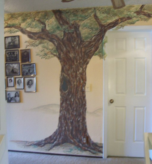 Oak Tree Mural By Vanessa Barrett