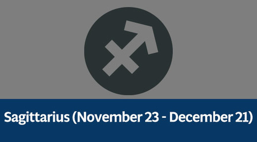 Sagittarius (November 23 - December 21)