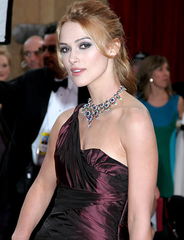 Star Wars: Keira Knightley (Sabe) 1. Keira Christina Knightley was born on