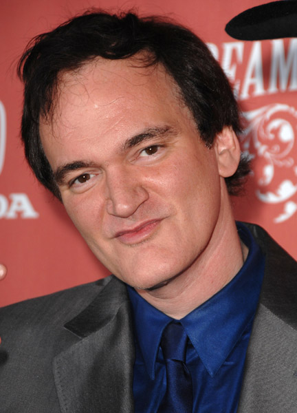 The scripts author and directorial magnate Quentin Tarantino.