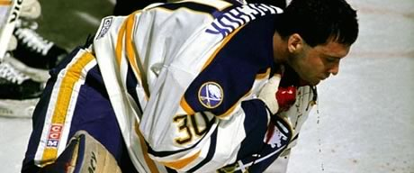 Clint Malarchuk Throat Cut