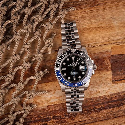 Rolex GMT-Master II Ref. 126710BLNR