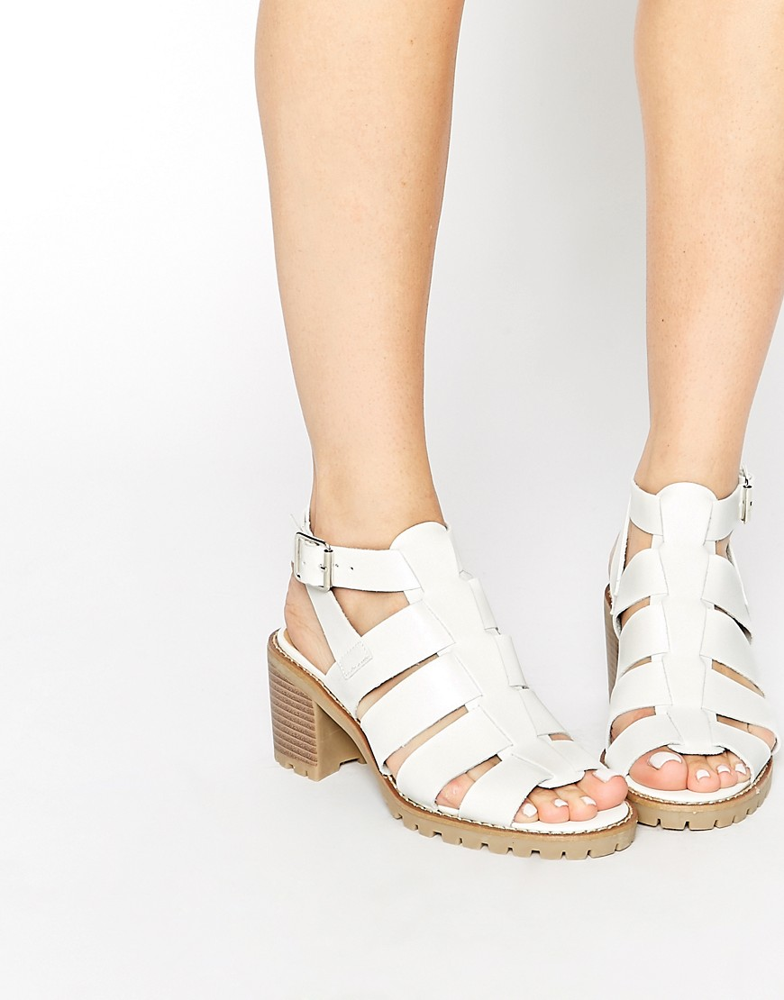 Image 1 ofTruffle Collection Zada Gladiator Heeled Sandals