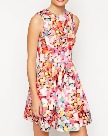 Sweetie print dress £75 from ASOS