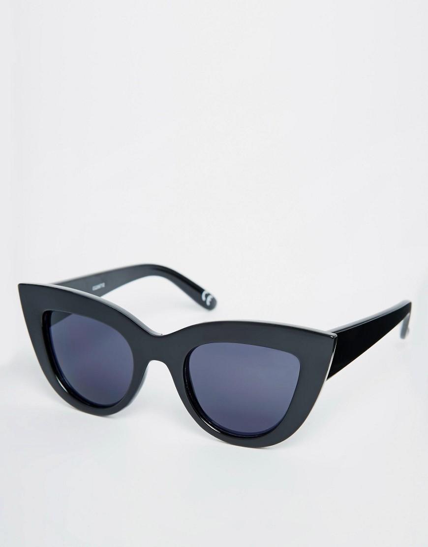 Imagen 1 de Gafas de sol ojos de gato con parte superior plana de ASOS