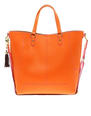 Image 1 of Paul's Boutique Leather Stella Shopper