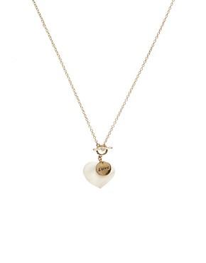 Image 1 - Sam Ubhi - Collier avec pendentif cœur en nacre