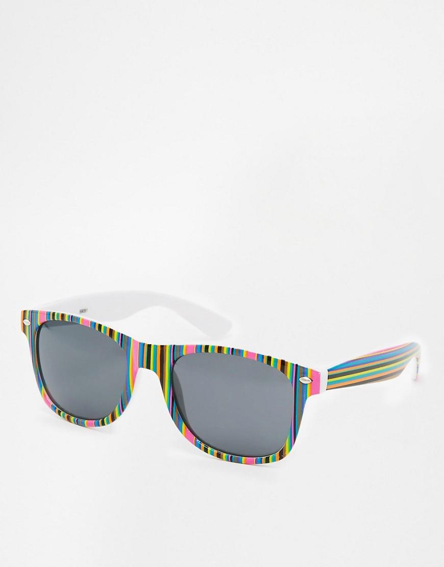 Imagen 1 de Gafas de sol con montura en forma de D Prism de AJ Morgan