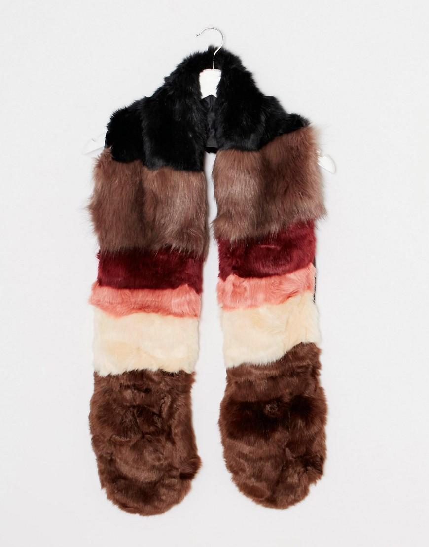 Image 3 ofNew Look Neopolitan Fur Stole