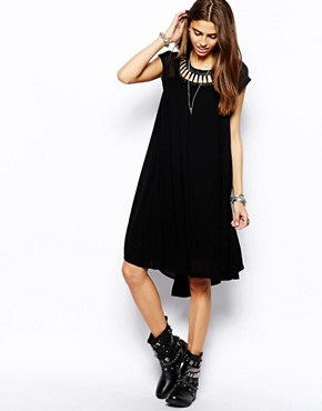 Image 1 of Free People Dress with Cut Out Dress