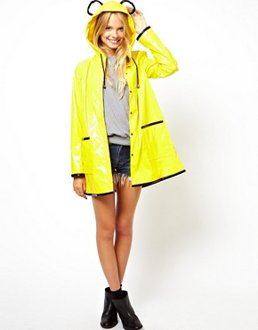 Image 4 of ASOS Rain Mac With Ears