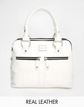 Modalu Pippa Mini Grab Bag In Croc Effect