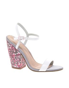 Image 1 ofASOS HALF MOON Heeled Sandals