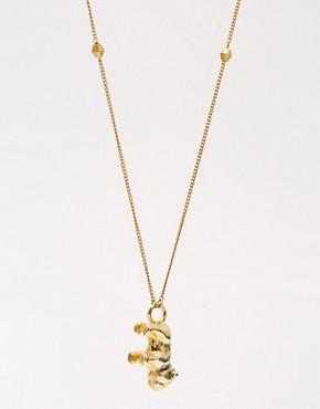 Image 4 ofSam Ubhi Bulldog Charm Necklace