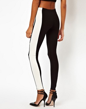 Image 2 of ASOS Legging with Side Panel
