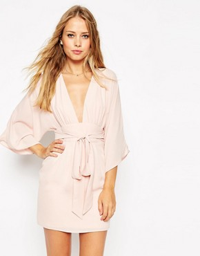 ASOS 70's Belted Mini Dress