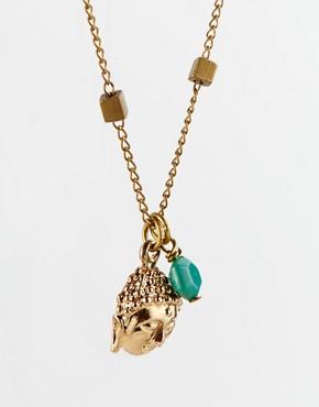 Image 4 ofSam Ubhi Buddha Head Charm Necklace