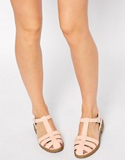 ASOS MARDY Gladiator T-Bar Shoes